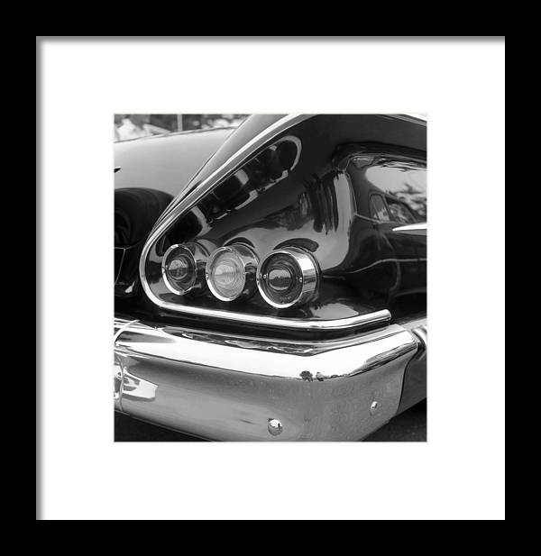 Car Framed Print featuring the photograph Chevy Impala by Richard Singleton