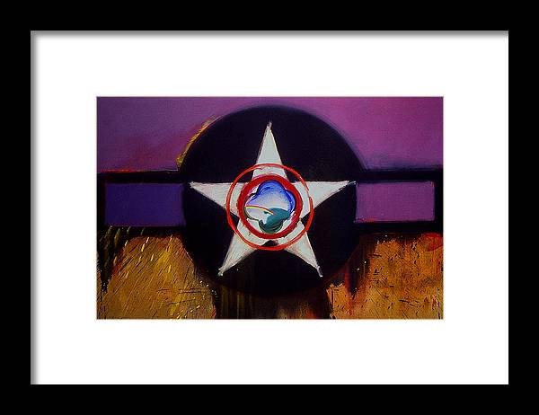 Air Force Insignia Framed Print featuring the painting Cheyenne Autumn by Charles Stuart