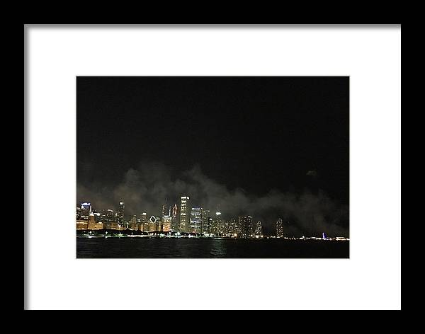 Cityscape Framed Print featuring the photograph Chi-town by Margaret Fronimos
