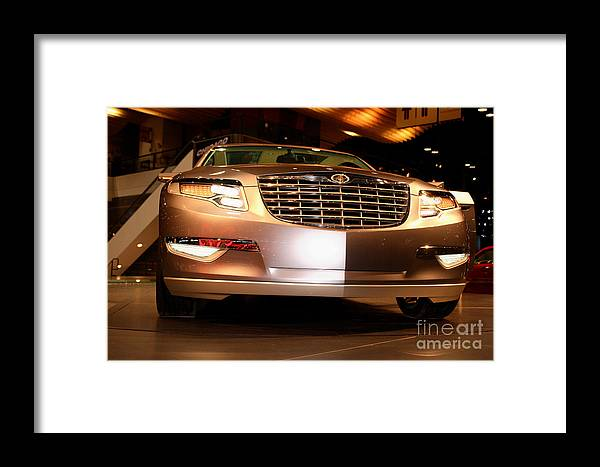 Automotive Framed Print featuring the photograph Chicago Auto Showchrysler Nassau Concept Vehicle No 2 by Alan Look