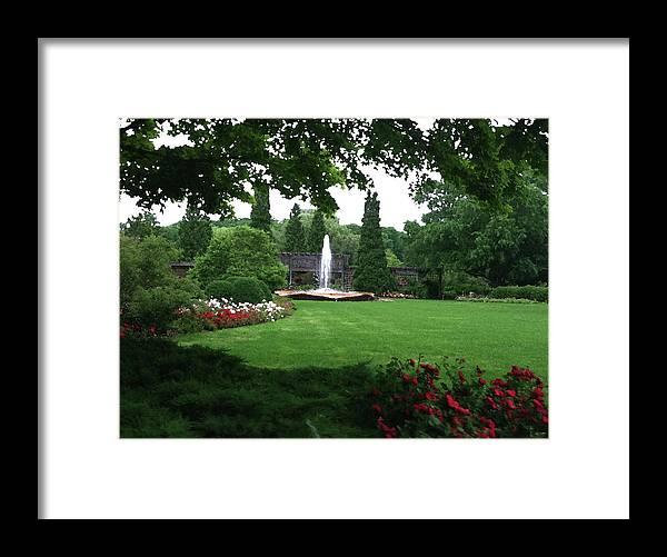 Landscape Framed Print featuring the photograph Chicago Botanical Gardens Landscape by Steve Karol