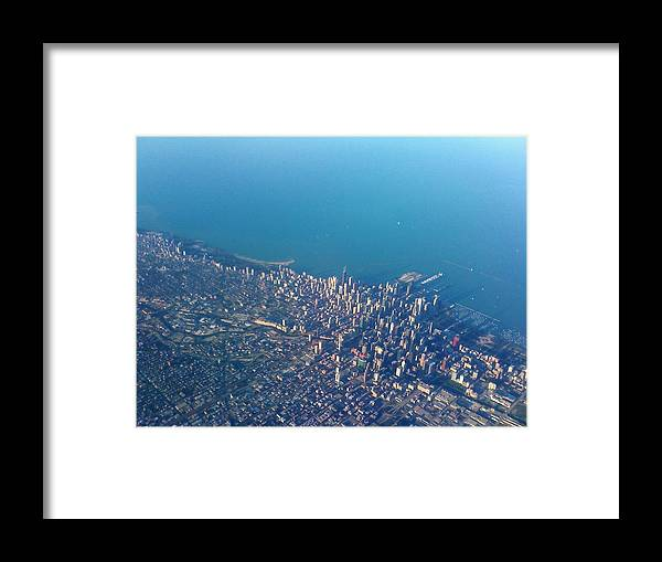 Chicago Framed Print featuring the photograph Chicago From Way Up by Jacob Stempky
