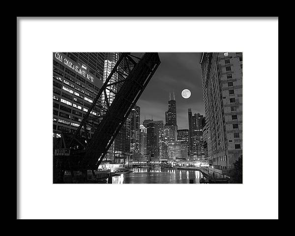 Chicago Framed Print featuring the photograph Chicago Pride of Illinois by Frozen in Time Fine Art Photography