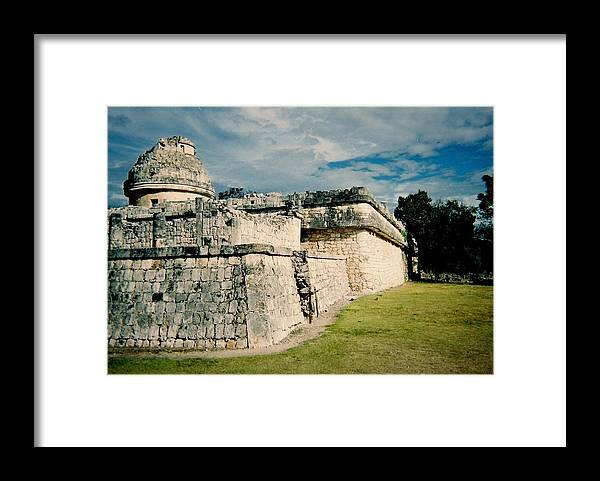 Chitchen Itza Framed Print featuring the photograph Chichen Itza 1 by Anita Burgermeister