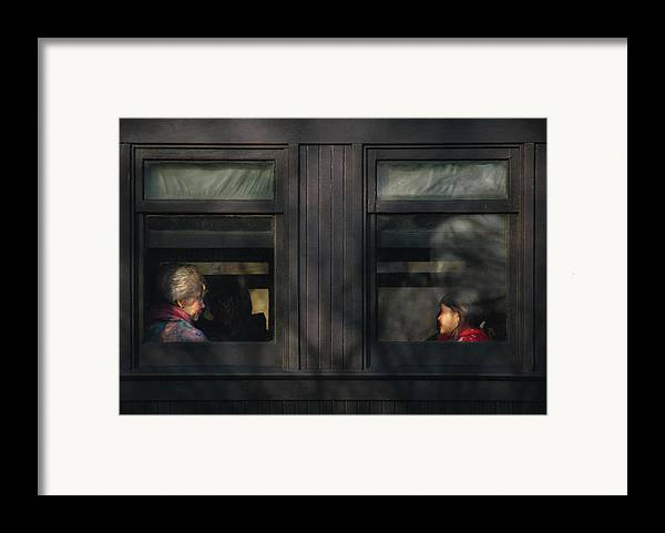 Savad Framed Print featuring the photograph Children - Generations by Mike Savad