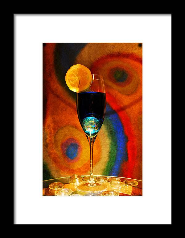 Rainbow Framed Print featuring the painting Chillax by Amanda Vouglas