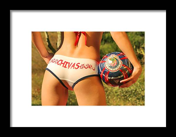 Girl Framed Print featuring the photograph Chivas Soccer by Tom Miles