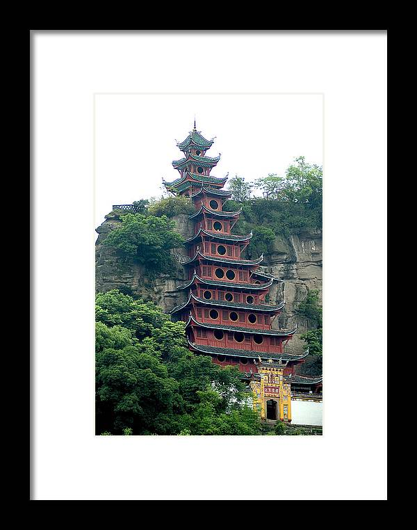 China Framed Print featuring the photograph Chna by Charles Ridgway