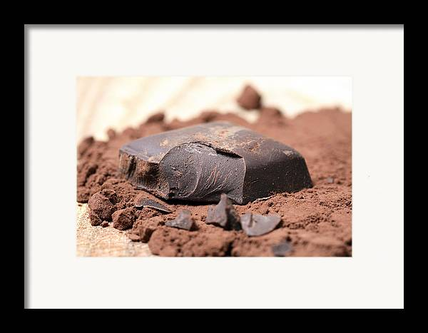 Chocolate Framed Print featuring the photograph Chocolate by Frank Tschakert