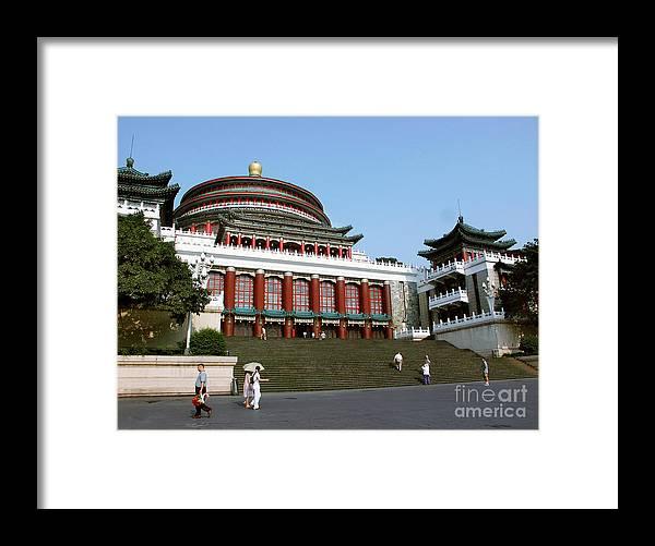 Chongqing Framed Print featuring the photograph Chongqing Opera by Roberta Bragan