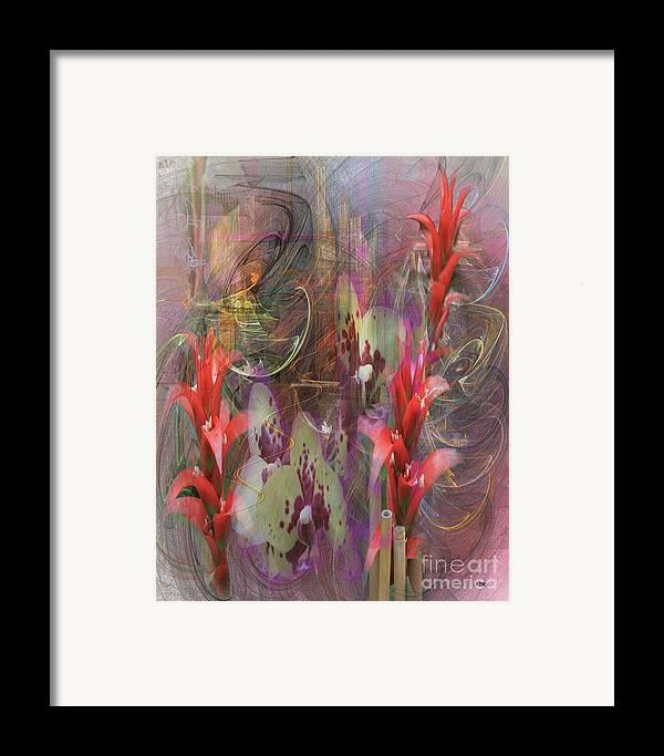 Chosen Ones Framed Print featuring the digital art Chosen Ones by John Beck