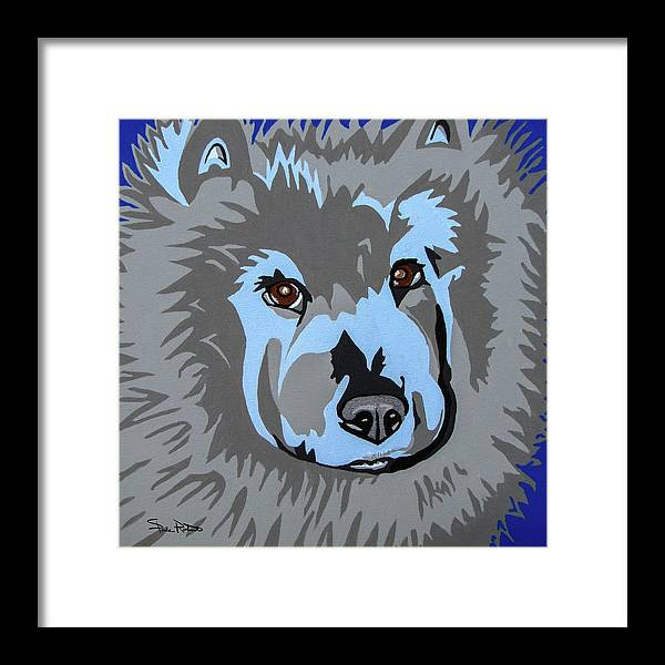 Chow Framed Print featuring the painting Chow Chow by Slade Roberts