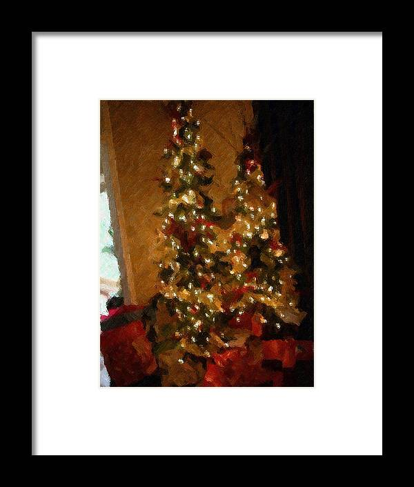 Christmas Framed Print featuring the photograph Christmas by Michael Morrison
