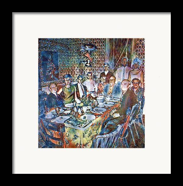 Christmas Framed Print featuring the photograph Christmas Of 1968 by Randy Sprout