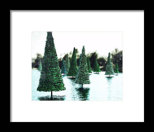 Holiday Framed Print featuring the photograph Christmas Sea by JAMART Photography