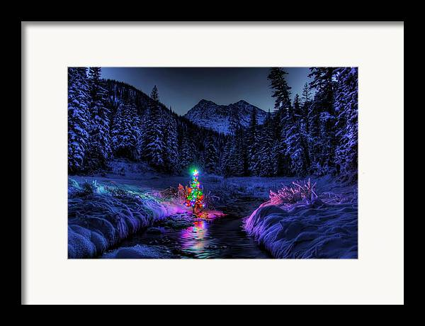 Christmas Spirit In Snowshoe Creek by Robert Hosea