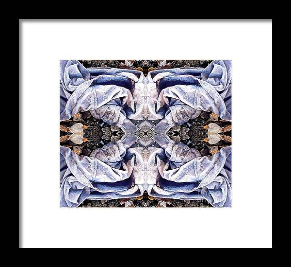 Abstract Framed Print featuring the digital art Church Clothing by Ron Bissett