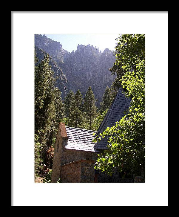 Mountain Landscape Framed Print featuring the photograph Church In The Wilderness-yosemite by Glenn McCarthy Art and Photography