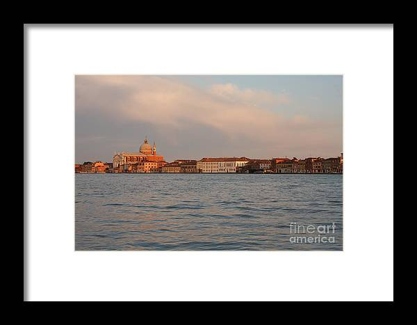 Venice Framed Print featuring the photograph Church Of The Redentore In Venice Across The Giudecca Canal by Michael Henderson