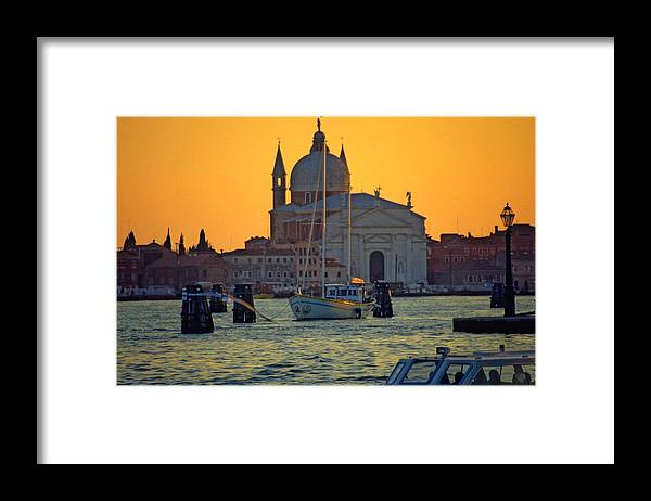 Venice Framed Print featuring the photograph Church Of The Redentore In Venice by Michael Henderson