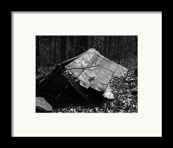 Ansel Adams Framed Print featuring the photograph Cindy Outhouse by Curtis J Neeley Jr
