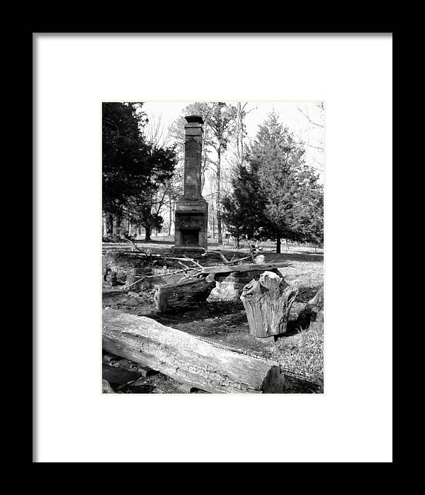 Framed Print featuring the photograph Cindy Winslow Chimney by Curtis J Neeley Jr