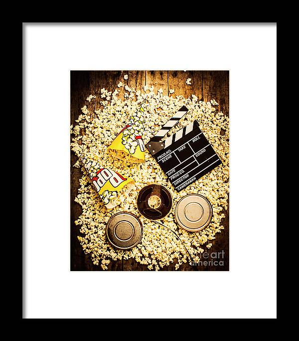 Entertainment Framed Print featuring the photograph Cinema Of Entertainment by Jorgo Photography - Wall Art Gallery