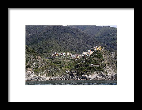 Cinque Terre Framed Print featuring the photograph Cinque Terre 5 by Andrew Fare