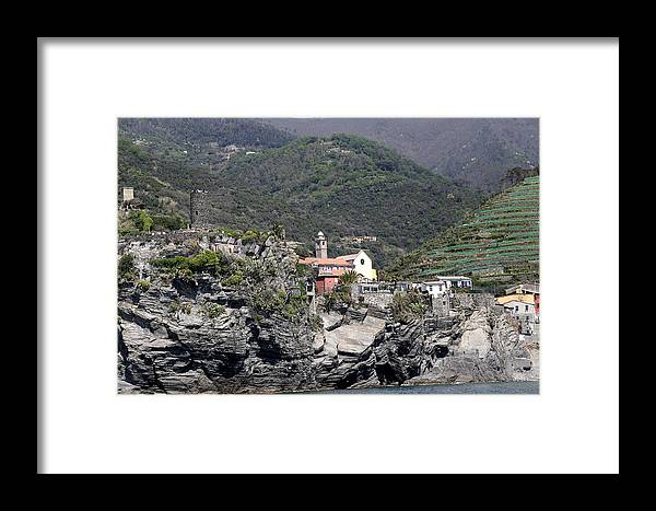 Cinque Terre Framed Print featuring the photograph Cinque Terre 6 by Andrew Fare