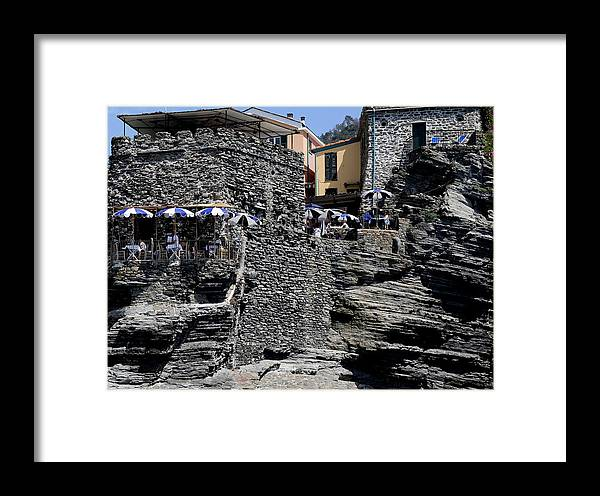 Cinque Terre Framed Print featuring the photograph Cinque Terre 7 by Andrew Fare