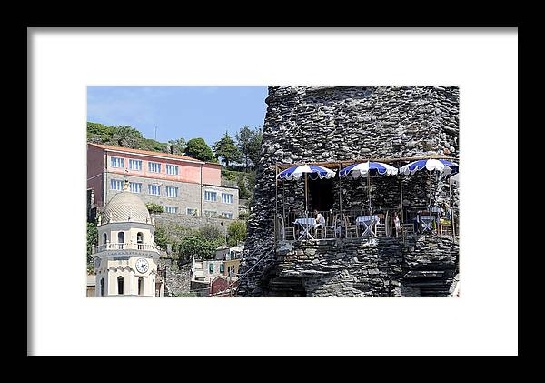 Cinque Terre Framed Print featuring the photograph Cinque Terre 8 by Andrew Fare