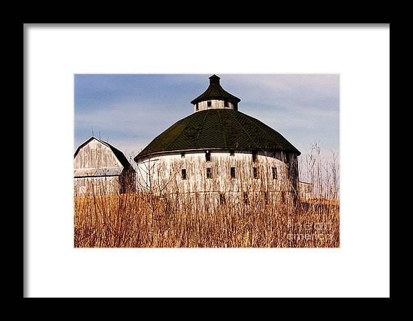 Barn Framed Print featuring the photograph Circular by Jeff Barrett