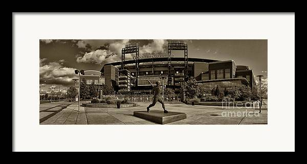 Citizens Park Framed Print featuring the photograph Citizens Park Panoramic by Jack Paolini