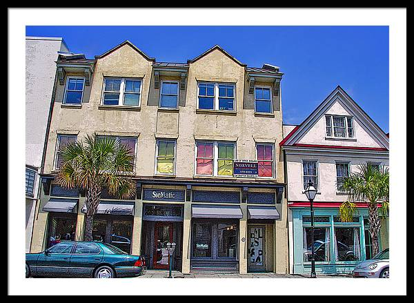 Storefront Framed Print featuring the photograph City Colors by Wendy Mogul