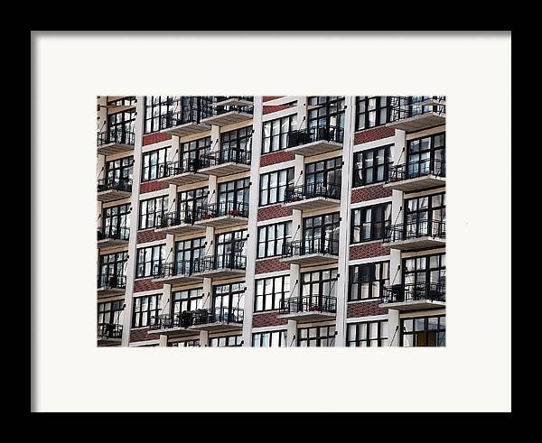 Landscape Framed Print featuring the photograph City Living by M Ryan