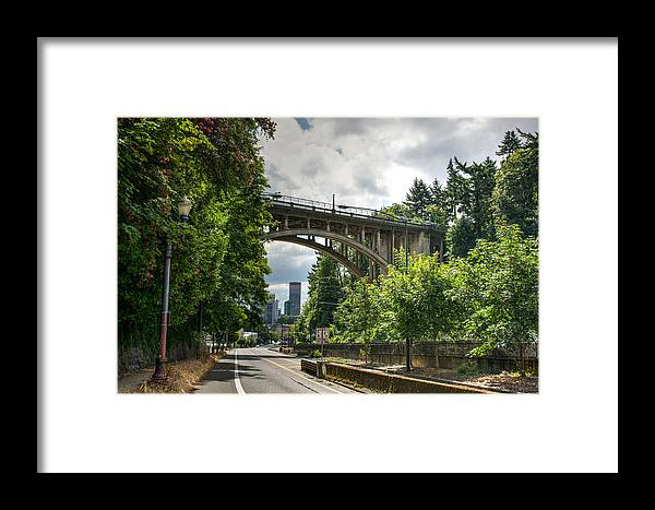 Portland Framed Print featuring the photograph City Of Bridges by Joan Baker