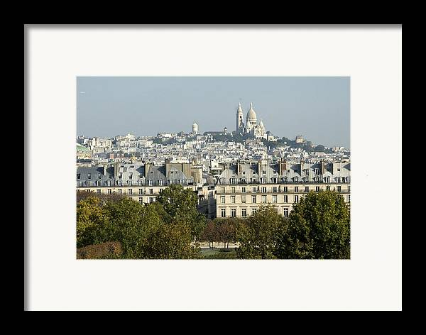 Paris Framed Print featuring the photograph City Of Paris by Charles Ridgway