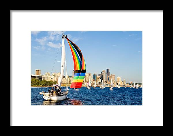 Seattle Framed Print featuring the photograph City Of Seattle by Tom Dowd