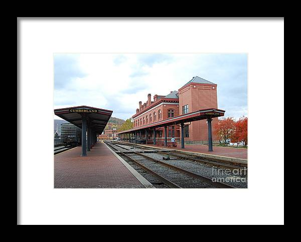 Historic Framed Print featuring the photograph Cumberland City station by Eric Liller