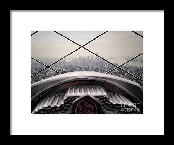 Photography Framed Print featuring the photograph City View by MGL Meiklejohn Graphics Licensing