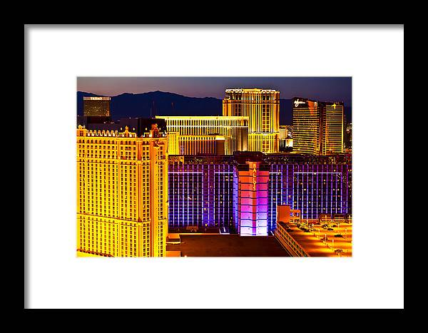 Nevada Framed Print featuring the photograph Cityscape by James Marvin Phelps