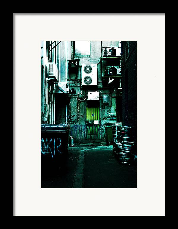 Air Conditioner Framed Print featuring the photograph Clandestine by Andrew Paranavitana