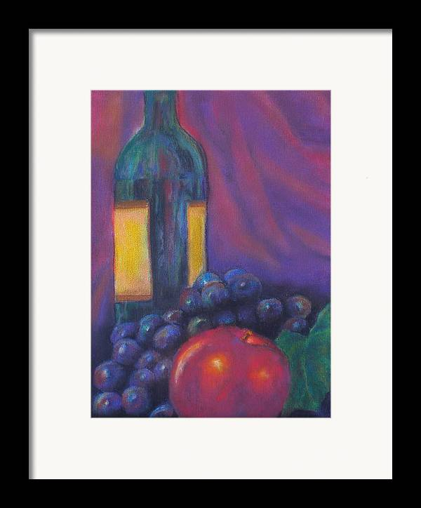 Pastel Framed Print featuring the painting Clarity by Lou Ewers