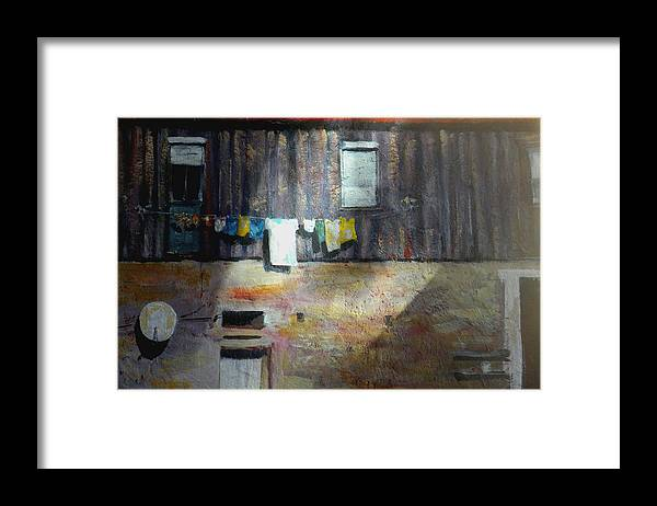 Portugal Framed Print featuring the painting Clashing Cultures by Paula Strother