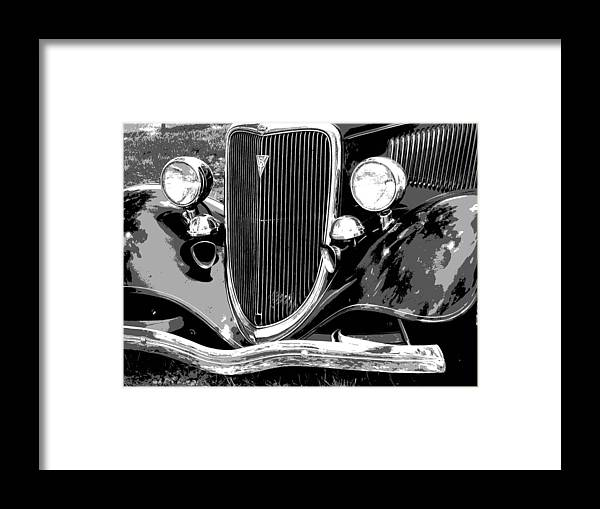 Car Framed Print featuring the photograph Classic 2 by Audrey Venute