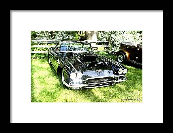 Beauty Car Auto Automobile Photograph Collect Collection Vintage Classic Life Framed Print featuring the photograph Classic Beauty. by Stevie Ellis