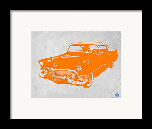 Chevy Framed Print featuring the drawing Classic Chevy by Naxart Studio