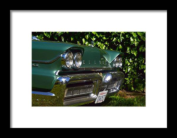 Framed Print featuring the photograph Classic Chrome by Dean Ferreira