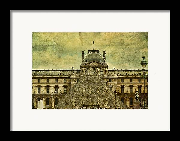 Paris Framed Print featuring the photograph Classic Contradiction by Andrew Paranavitana