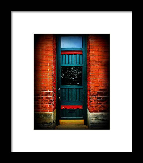 Door Framed Print featuring the photograph Classic Door by Perry Webster